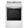 Maytag 8.8-cu ft Electric Dryer with Steam Cycles (White) ENERGY STAR