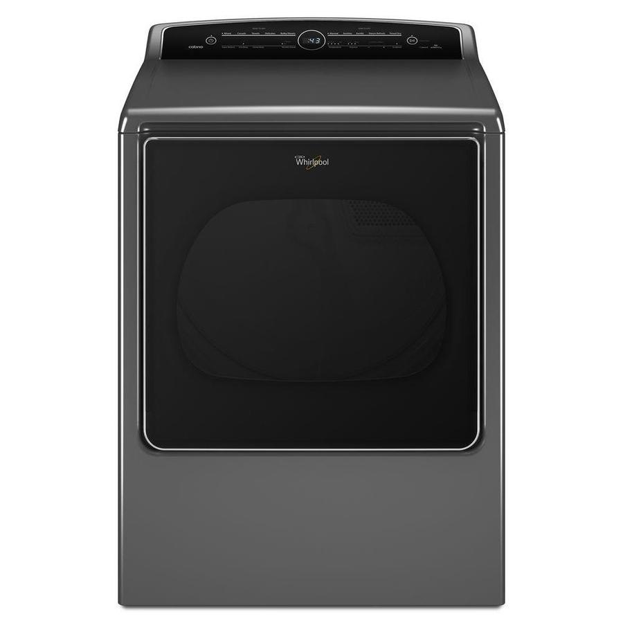 Shop Whirlpool Cabrio 8 8 Cu Ft Electric Dryer With Steam