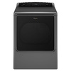 Whirlpool Cabrio 8.8-cu ft Gas Dryer with Steam Cycles (Chrome Shadow)