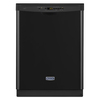 Maytag 50-Decibel Built-in Dishwasher (Black) (Common: 24-in; Actual: 23.875-in) ENERGY STAR