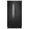 Whirlpool 21.6-cu ft Side-by-Side Refrigerator (Black Ice)