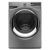 Whirlpool Duet 4.5-cu ft High-Efficiency Stackable Front-Load Washer with Steam Cycle (Chrome Shadow) ENERGY STAR