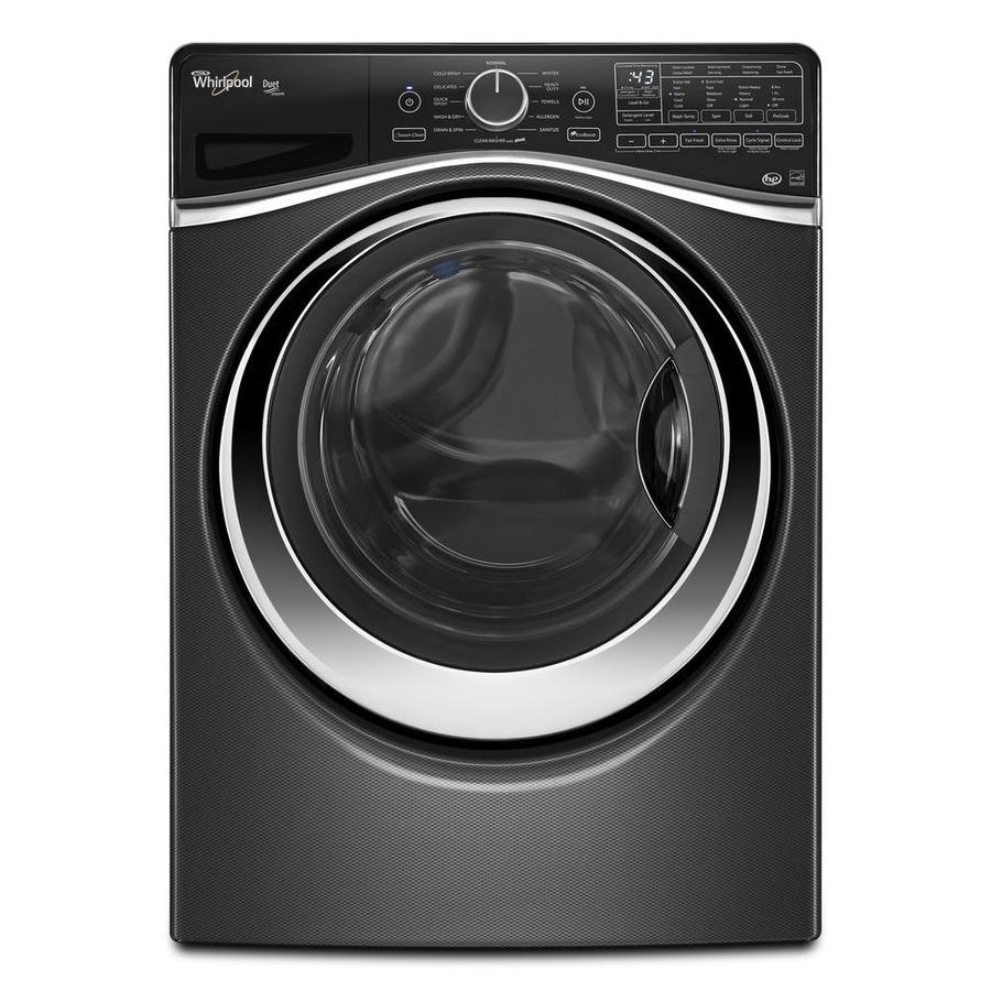 Shop Whirlpool Duet 4 5 Cu Ft High Efficiency Stackable