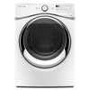 Whirlpool Duet 7.3-cu ft Stackable Gas Dryer with Steam Cycles (White)