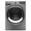 Whirlpool Duet 7.3-cu ft Stackable Gas Dryer with Steam Cycles (Chrome Shadow)
