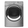 Whirlpool Duet 7.3-cu ft Stackable Gas Dryer with Steam Cycles (Diamond Steel)