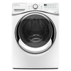Whirlpool Duet 4.5-cu ft High-Efficiency Stackable Front-Load Washer with Steam Cycle (White) ENERGY STAR