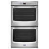 Maytag Self-Cleaning Double Electric Wall Oven (Stainless Steel) (Common: 27-in; Actual: 27-in)