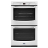 Maytag Self-Cleaning Double Electric Wall Oven (White) (Common: 27-in; Actual: 27-in)