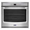 Maytag Self-Cleaning Convection Single Electric Wall Oven (Stainless Steel) (Common: 27-in; Actual 27-in)