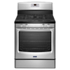 Maytag Freestanding 5.8-cu Self-Cleaning Gas Range (Stainless Steel) (Common: 30-in; Actual: 29.87-in)