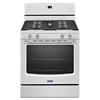 Maytag Freestanding 5.8-cu Self-Cleaning Gas Range (White) (Common: 30-in; Actual: 29.87-in)