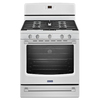 Maytag 5-Burner Freestanding 5.8-cu Self-Cleaning Convection Gas Range (White) (Common: 30-in; Actual: 29.87-in)