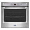 Maytag Self-Cleaning Single Electric Wall Oven (Stainless Steel) (Common: 30-in; Actual 30-in)
