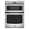 Maytag Self-Cleaning Microwave Wall Oven Combo (Common: 30-in; Actual: 30-in)