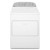 Whirlpool 7-cu ft Electric Dryer with Steam Cycles (White)