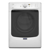 Maytag Maxima 7.3-cu ft Stackable Gas Dryer with Steam Cycles (White)
