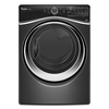 Whirlpool Duet 7.3-cu ft Stackable Gas Dryer with Steam Cycles (Black Diamond)