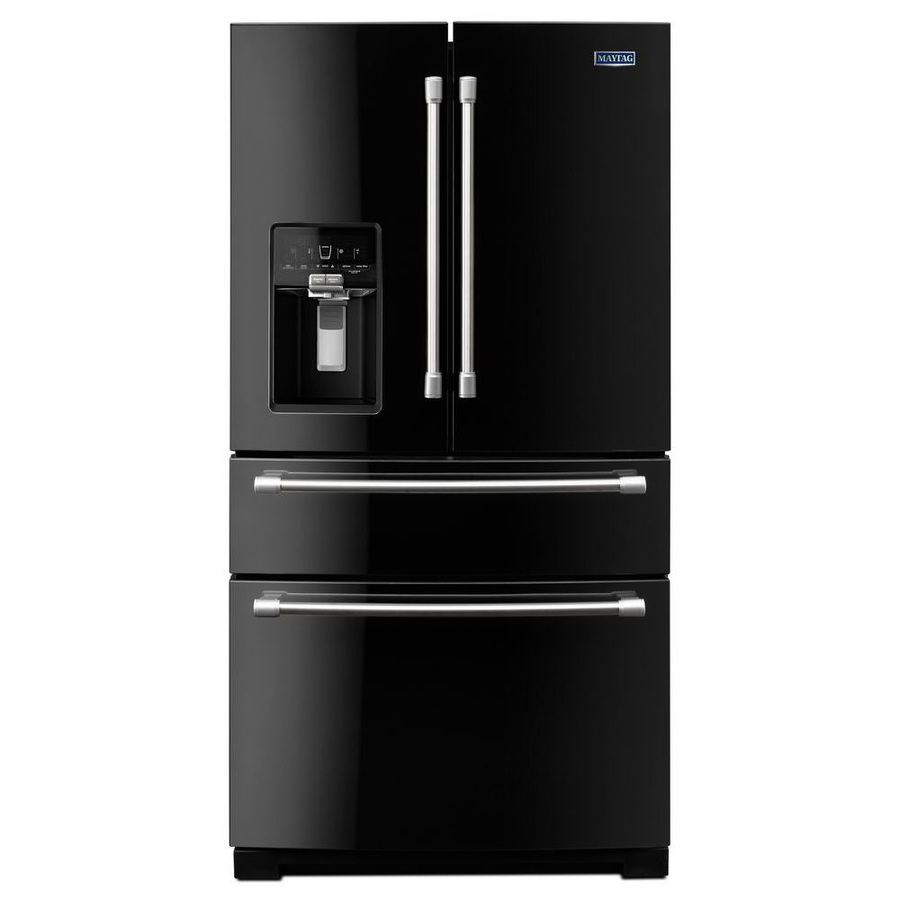 Shop Maytag 26.2-cu ft French Door Refrigerator with ...