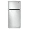 Whirlpool 16-cu ft Top-Freezer Refrigerator (Stainless Steel)