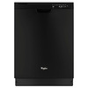 Whirlpool 53-Decibel Built-in Dishwasher (Black) (Common: 24-in; Actual: 23.875-in) ENERGY STAR