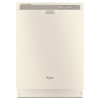 Whirlpool 53-Decibel Built-in Dishwasher (Biscuit) (Common: 24-in; Actual: 23.875-in) ENERGY STAR