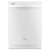 Whirlpool Gold 51-Decibel Built-In Dishwasher (White) (Common: 24-in; Actual: 23.875-in) ENERGY STAR
