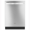 Whirlpool Gold 51-Decibel Built-In Dishwasher (Monochromatic Stainless Steel) (Common: 24-in; Actual: 23-in) ENERGY STAR