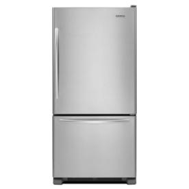 shop kitchenaid architect ii 21 9 cu ft bottom freezer