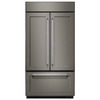 KitchenAid 24.2-cu ft Counter-Depth French Door Refrigerator with Single Ice Maker (Panel Ready) ENERGY STAR