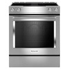 KitchenAid Smooth Surface Slide-In Convection Electric Range with Downdraft Exhaust (Stainless Steel) (Common: 30-in; Actual 29.875-in)