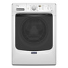 Maytag 4.2-cu ft High-Efficiency Stackable Front-Load Washer with Steam Cycle (White) ENERGY STAR