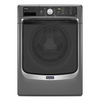 Maytag 4.2-cu ft High-Efficiency Stackable Front-Load Washer with Steam Cycle (Metallic Slate) ENERGY STAR