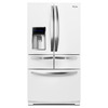 Whirlpool 25.8-cu ft French Door Refrigerator with Single Ice Maker (White Ice)