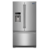 Maytag 26.8-cu ft French Door Refrigerator with Single Ice Maker (Stainless Steel) ENERGY STAR