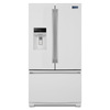 Maytag 26.8-cu ft French Door Refrigerator with Single Ice Maker (White) ENERGY STAR