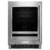 KitchenAid 4.8-cu ft Stainless Steel Built-in Beverage Center