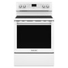 KitchenAid Smooth Surface Freestanding 5-Element 6.4-cu ft Self-Cleaning Convection Electric Range (White) (Common: 30-in; Actual: 29.87-in)