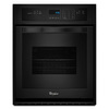 Whirlpool Single Electric Wall Oven (Black) (Common: 24-in; Actual 23.75-in)