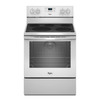 Whirlpool Smooth Surface Freestanding 5-Element 6.4-cu ft Self-Cleaning Convection Electric Range (White) (Common: 30-in; Actual: 29.87-in)