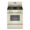 Whirlpool 4-Burner Freestanding 5-cu ft Gas Range (Biscuit) (Common: 30-in; Actual: 29.875-in)