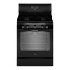 Whirlpool 5-Burner Freestanding 5.8-cu Self-Cleaning Convection Gas Range (Black) (Common: 30-in; Actual: 29.87-in)
