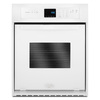 Whirlpool Single Electric Wall Oven (White) (Common: 24-in; Actual 23.75-in)