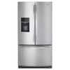 Whirlpool 26.8-cu ft French Door Refrigerator with Single Ice Maker (Monochromatic Stainless Steel) ENERGY STAR