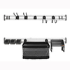 Gladiator 54-Piece Varied Plastic Storage Rail System
