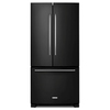 KitchenAid 22.1-cu ft French Door Refrigerator with Single Ice Maker (Black) ENERGY STAR
