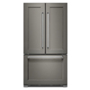 KitchenAid 21.94-cu ft Counter-Depth French Door Refrigerator with Single Ice Maker (Panel Ready)