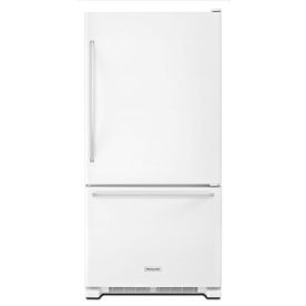 Kitchenaid Appliances White upc 883049361017 - kitchenaid - 18.7 cu. ft. bottom-freezer