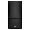 KitchenAid 22.07-cu ft Bottom-Freezer Refrigerator (Black) ENERGY STAR
