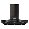 KitchenAid Convertible Island Range Hood (Black Stainless Steel 36-in; Actual: 36-in)